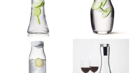 Menu Water and Wine