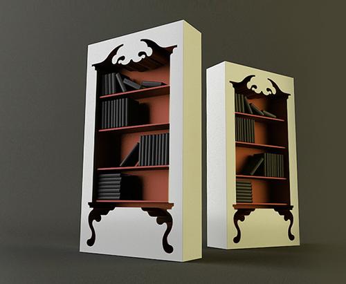 Munkii Vintage Bookshelf
