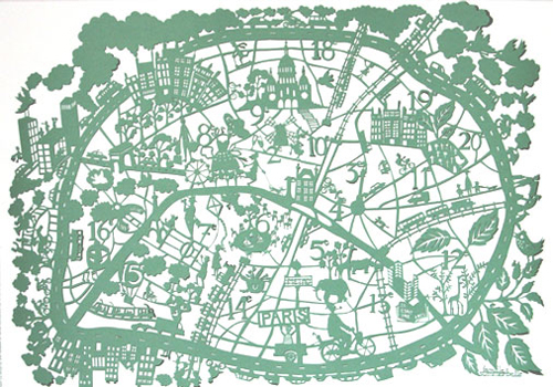 paris-papercut-map