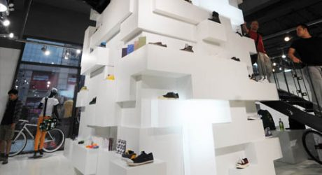 Source Flagship Store in China by HUGE Architecture