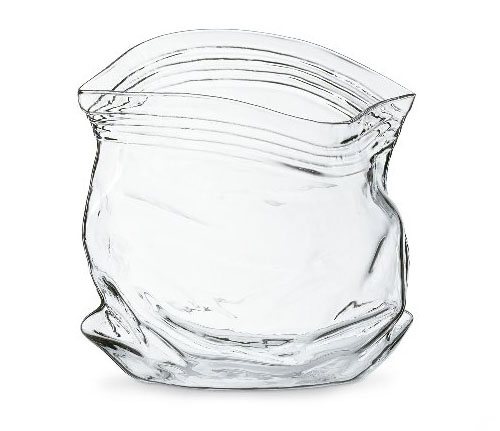 Unsealed Glass Bowl