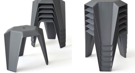 Linz Hocker Stool by Thomas Feichtner