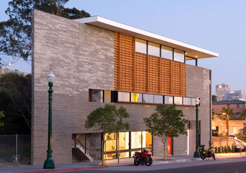 R3 Triangle Building in California by Lloyd Russell