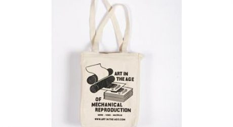 Art in the Age of Mechanical Reproduction Tote