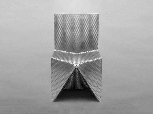 Aluminum Chair by Tobias Labarque