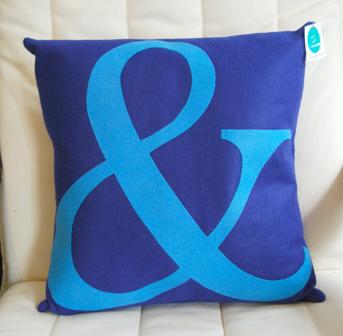 Ampersand Pillow in home furnishings  Category