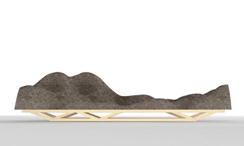 Brain Wave Sofa by Lucas Maassen and Dries Verbruggen