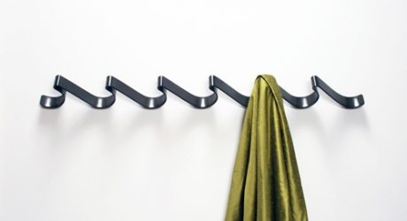Coat Rack by Iron Design Company