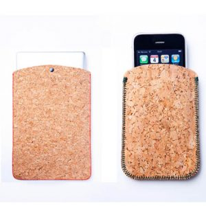 Cork Laptop and iPhone Sleeves