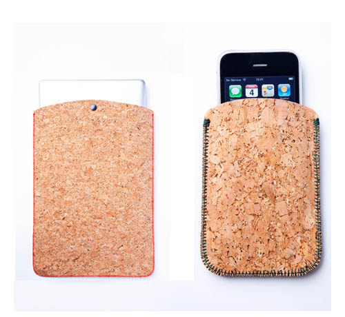 Cork Laptop and iPhone Sleeves in technology style fashion  Category