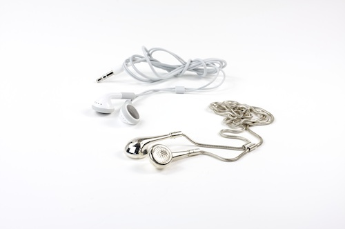 iPod Earphones Pendant by Nathan Thomas in style fashion main  Category