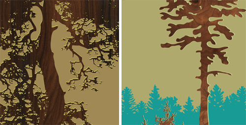 Forest Prints from Jefdesigns in main art  Category