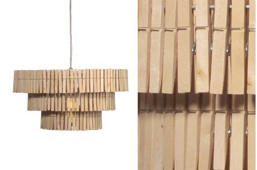 clothespin lamp