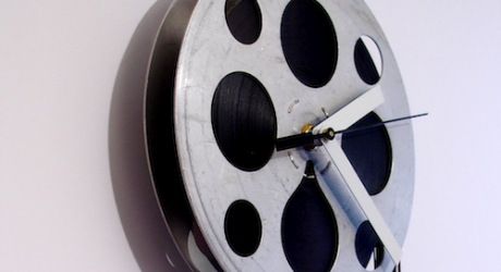 MovieTime Clocks by Kathy Mayer
