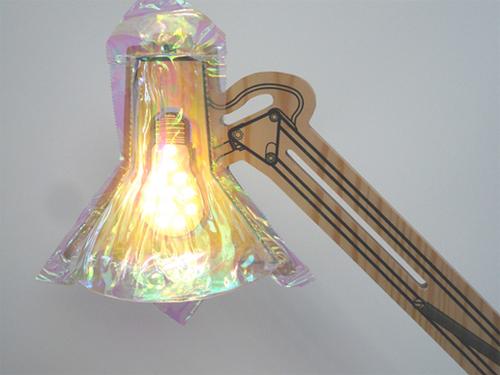 Ravioli Lamp by Toshihito Okura