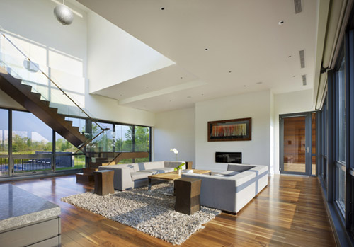 Riverhouse Niagara in Canada by ZERAFA Architecture Studio in main architecture  Category