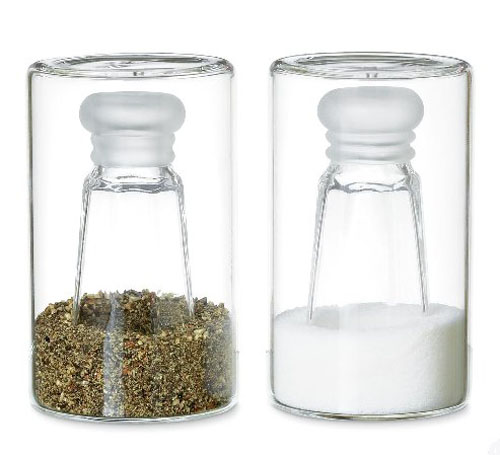 Modern Salt and Pepper Shakers