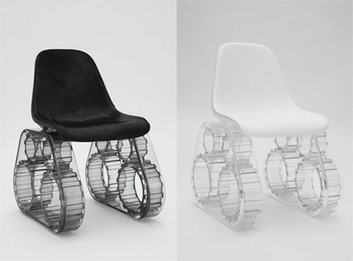 Tank Chair by Pharrell Williams Design Milk