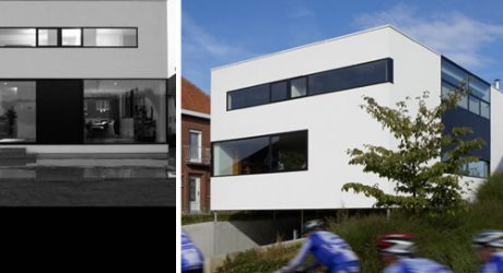 Detached House Meise by Crepain Binst Architecture