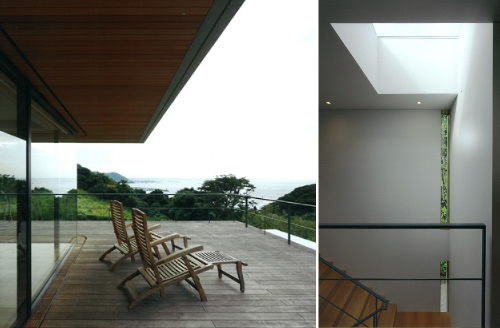 House with Oceanic Views by Kidosaki Architects in architecture  Category