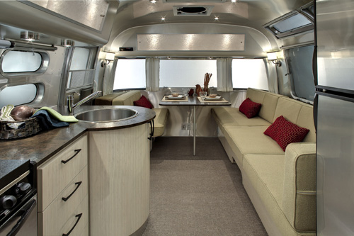 Airstream Victorinox and Serenity Trailers in technology interior design  Category