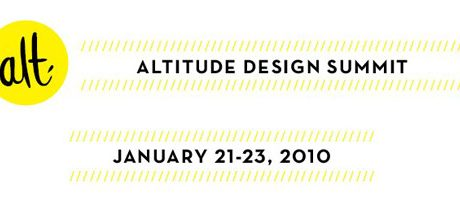 Altitude Design Summit Reminder