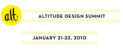 Altitude Design Summit Reminder