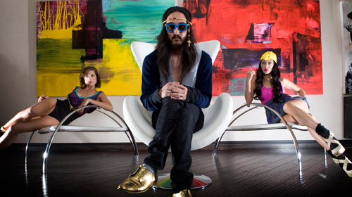 The Beat Boxed: Steve Aoki in main interior design  Category