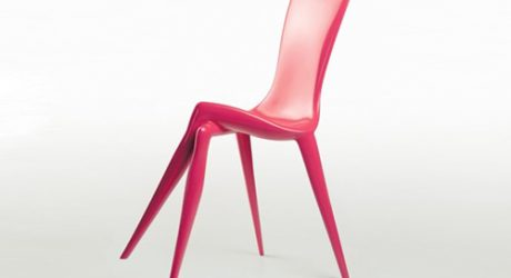 Crossed-Legged Chair by Vladimir Tsesler