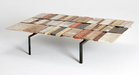Flotsum and Jetsam Table by Marcus O'Reilly Architects