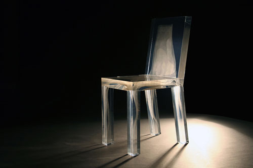 Ghost Chair by Drift Design Milk