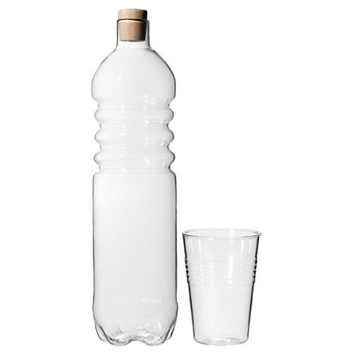 Glass Water Bottle and Cup in home furnishings  Category