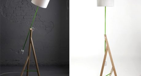 Good King Henry Lamp by Strawberry Kingdom