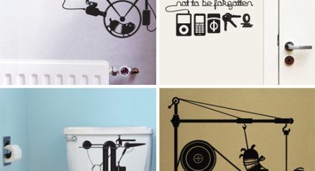 Hu2 Wall Stickers