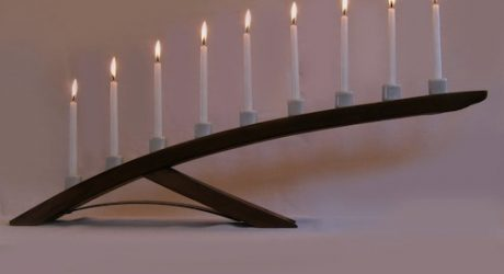 Menorah Candelabra by Stil Novo Design