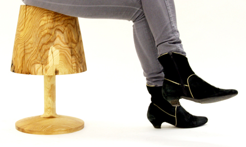 This Not A Lamp Stool by Florian Kallus
