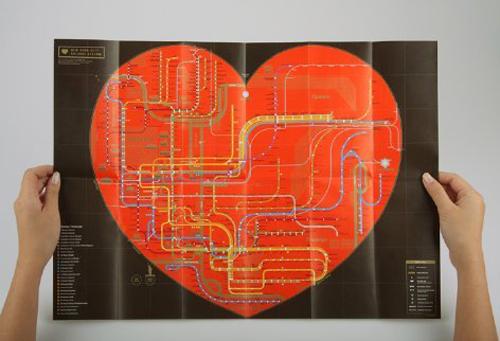 Subway Map Art