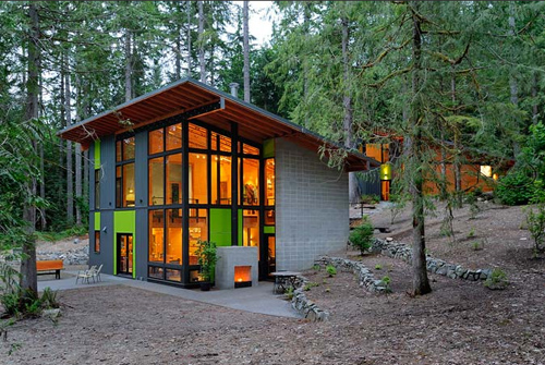 Schell Wheeler House in Washington by Johnston Architects in architecture  Category