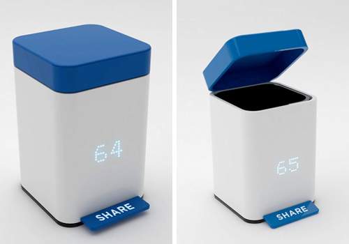 Share//Trash Can by Burak Kaynak
