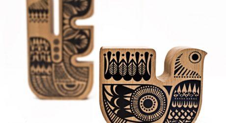 Wooden Soul Birds by Sanna Annukka