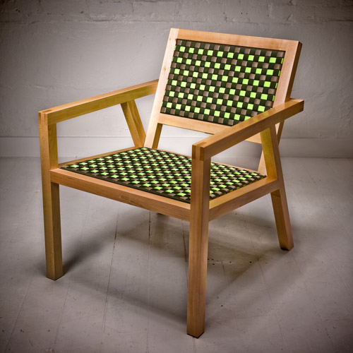 Strap Chair by Tim Lewis