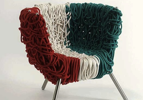 Vermelha chair special edition by edra design milk for Special chair design