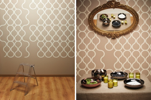 Tear Off Wallpaper by ZNAK in main interior design  Category