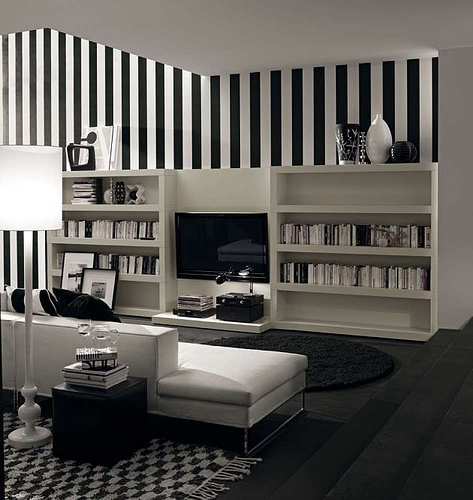 Black and White Stripes in home furnishings  Category