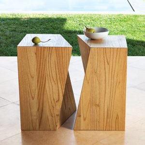 Reversible Side Tables