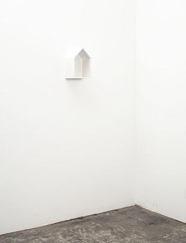 Bird House Wall Shelf