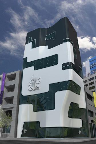 GQ Bank Building Concept