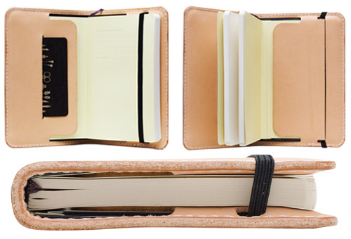 Engrave your moleskine cover