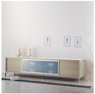 Modloft Lexington Entertainment Center - Living Room at Modern Furniture