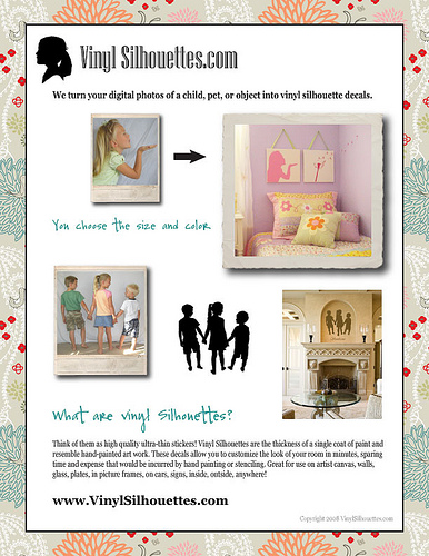 Silhouette Decal Giveaway!